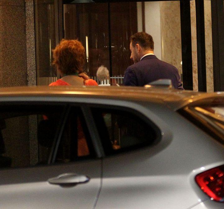 (FOTO) Primarul Falcă petrece cu amanta la București