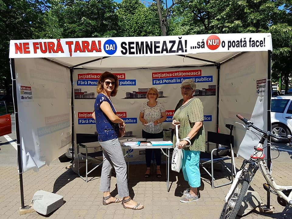 """Semnăturile invalidate din campania """"Fără penali"""", trimise la parchet"""