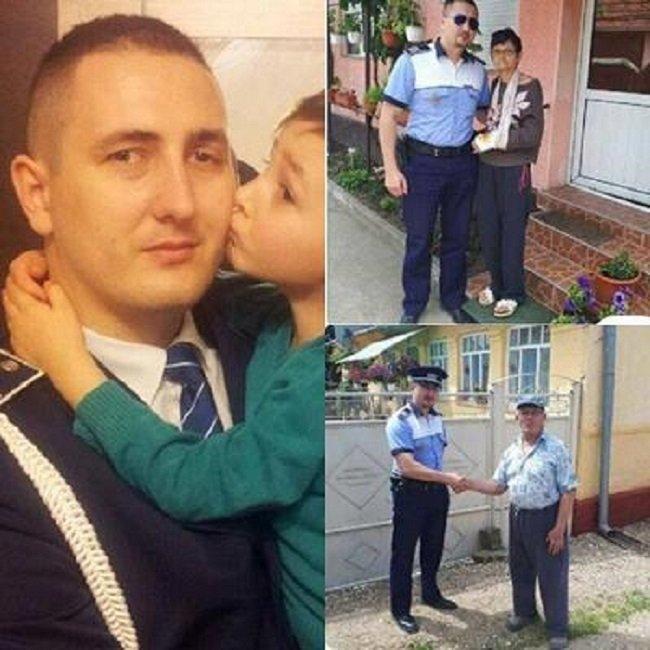 El este polițistul care a refuzat mita, chiar dacă are nevoie de 20.000 de euro pentru un transplant