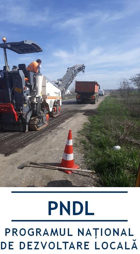 Vinga are 12 kilometri de străzi modernizate cu fonduri de la Guvern