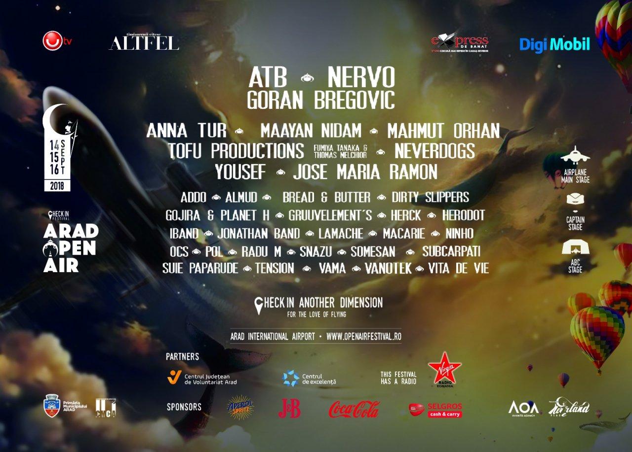 Arad Open Air Festival se apropie