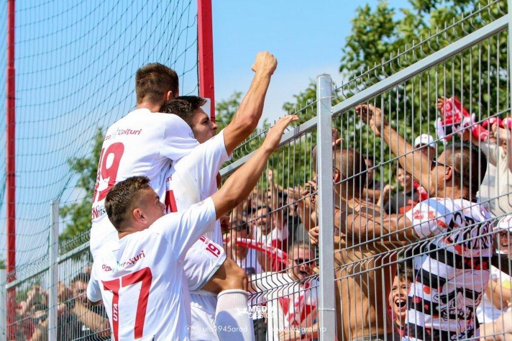 UTA bate Poli şi aşteaptă o echipă de Liga 1, la Arad!