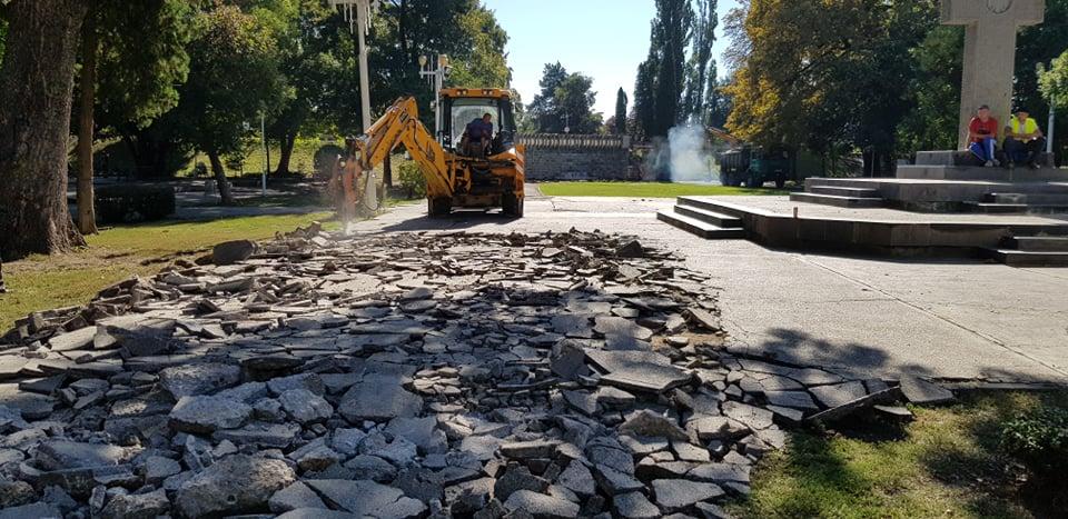 Au început lucrările de amenajare a Parcului Eminescu