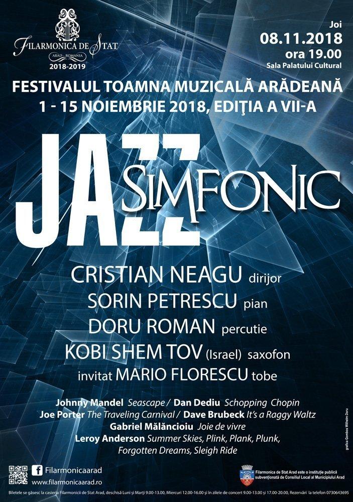 Jazz simfonic. Sorin Petrescu și Doru Roman se reîntorc la Arad