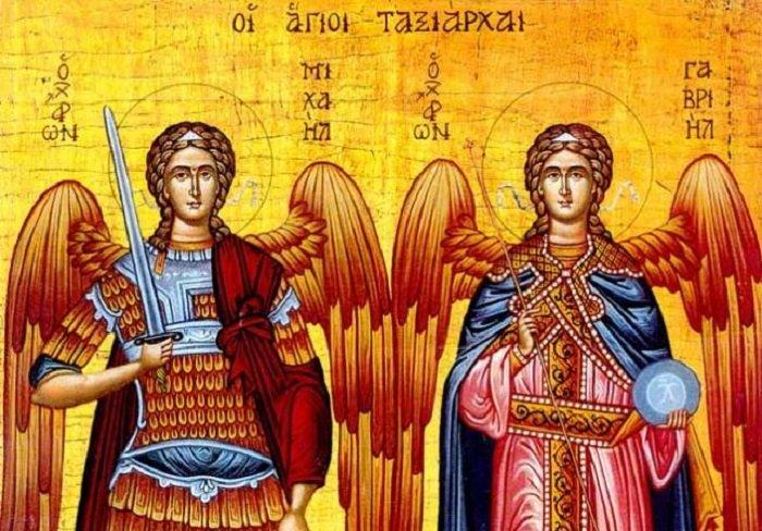 Sfinții Arhangheli Mihail și Gavriil, bucuria și dreptatea credincioșilor