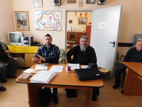 Acțiune educativ-informativă la Centrul de zi pentru vârstnici Arad