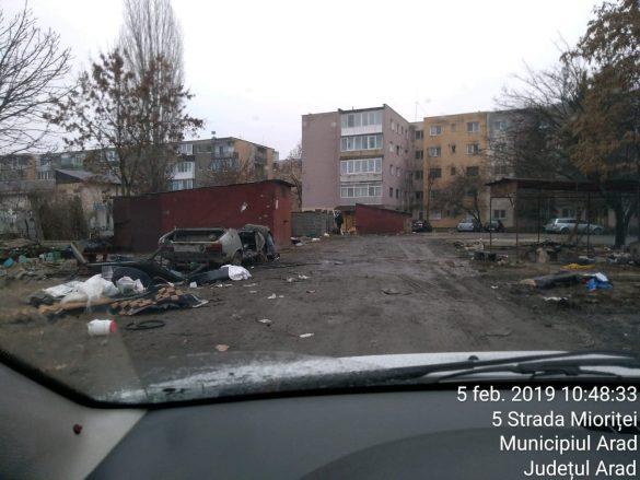 Ce amenzi riscă arădenii care depozitează necorespunzător deșeurile din construcții