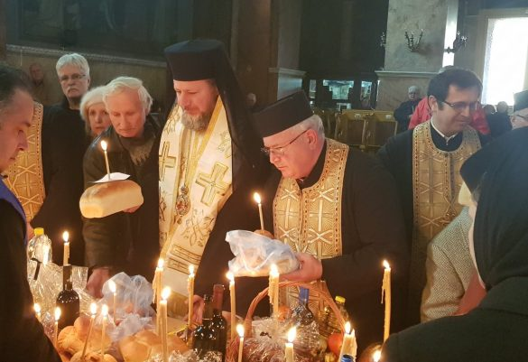 """(FOTO) Moșii de iarnă. PS Emilian Crișanul: """"Ne rugăm pentru sufletele celor adormiți fiindcă îi iubim, iar iubirea este mai tare decât moartea"""""""