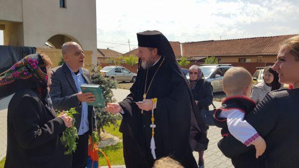 """(FOTO) Duminica Floriilor. Parohia Grădiște II și-a serbat pentru prima dată hramul bisericii """"Intrarea Domnului în Ierusalim"""""""