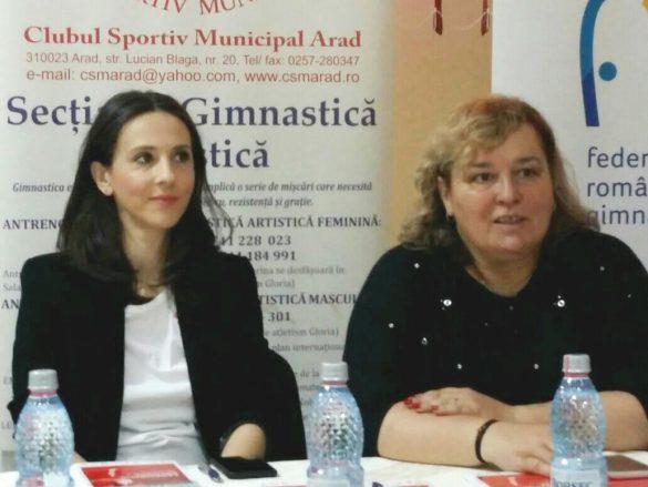 """Andreea Răducan: """"Am regăsit la Arad iniţiativă şi deschidere pentru gimnastică!"""" (FOTO)"""
