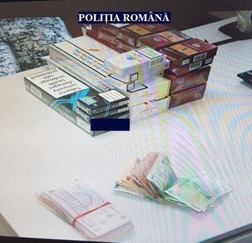 Tânără din Curtici, prinsă în timp ce vindea țigări de contrabandă