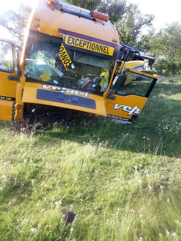 (FOTO) Accident grav pe DN79, cu mai multe victime